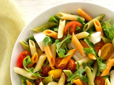 Tricolor Penne salad