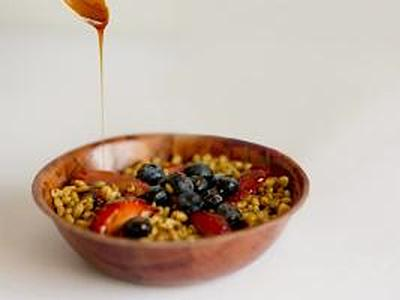ultimate Freekeh breakfast
