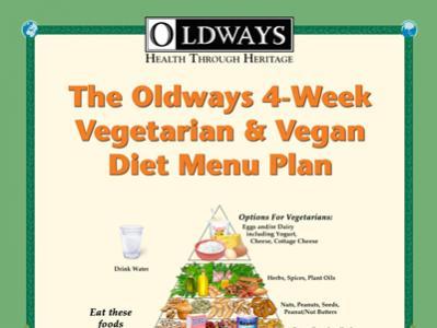 Vegetarian and Vegan Menu Plan Book
