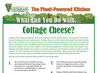 What can you do with Cottage Cheese?