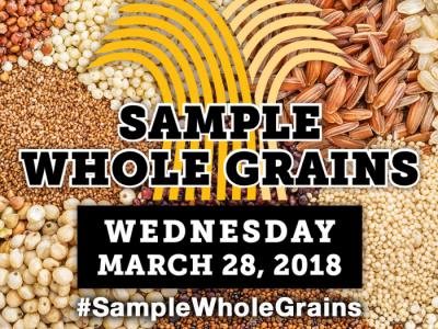 Whole Grain Sampling Day Logo