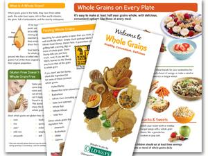 Whole Grains 101 brochure