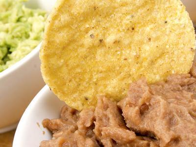 Avocado-Cilantro Stacked Black Bean Hummus