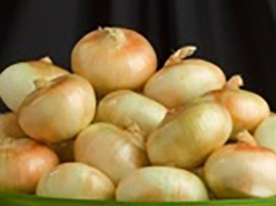 Sweet onions in a bowl