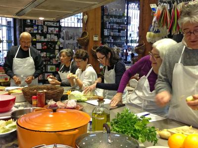 Cooking Class Madrid Culinaria 2013