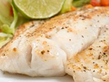 Fish with Cilantro Sauce