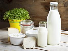 Milk, cheese and other dairy products
