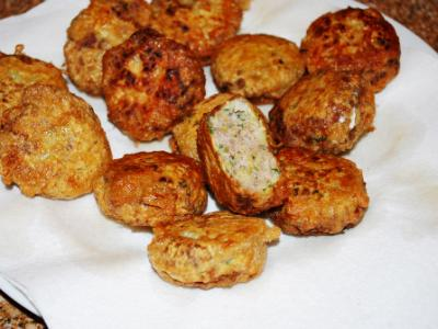 Kufte (Leek and Ground Beef Patties)
