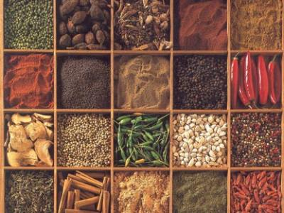 Spices in Boxes