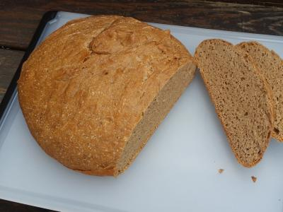 100% Sprouted Whole Wheat Bread