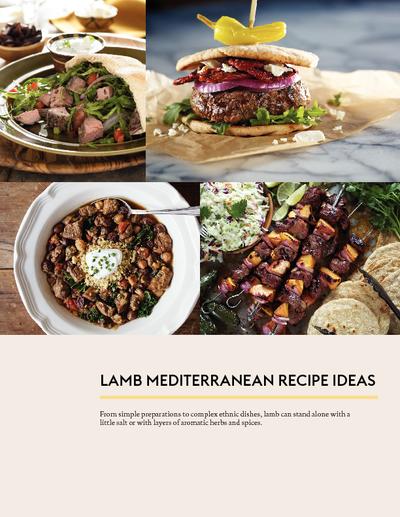 Nourish with lamb oldways tlnwl oldwaysrecipeideaspdf handoutarticle mediterranean lamb cooking demo forumfinder Image collections