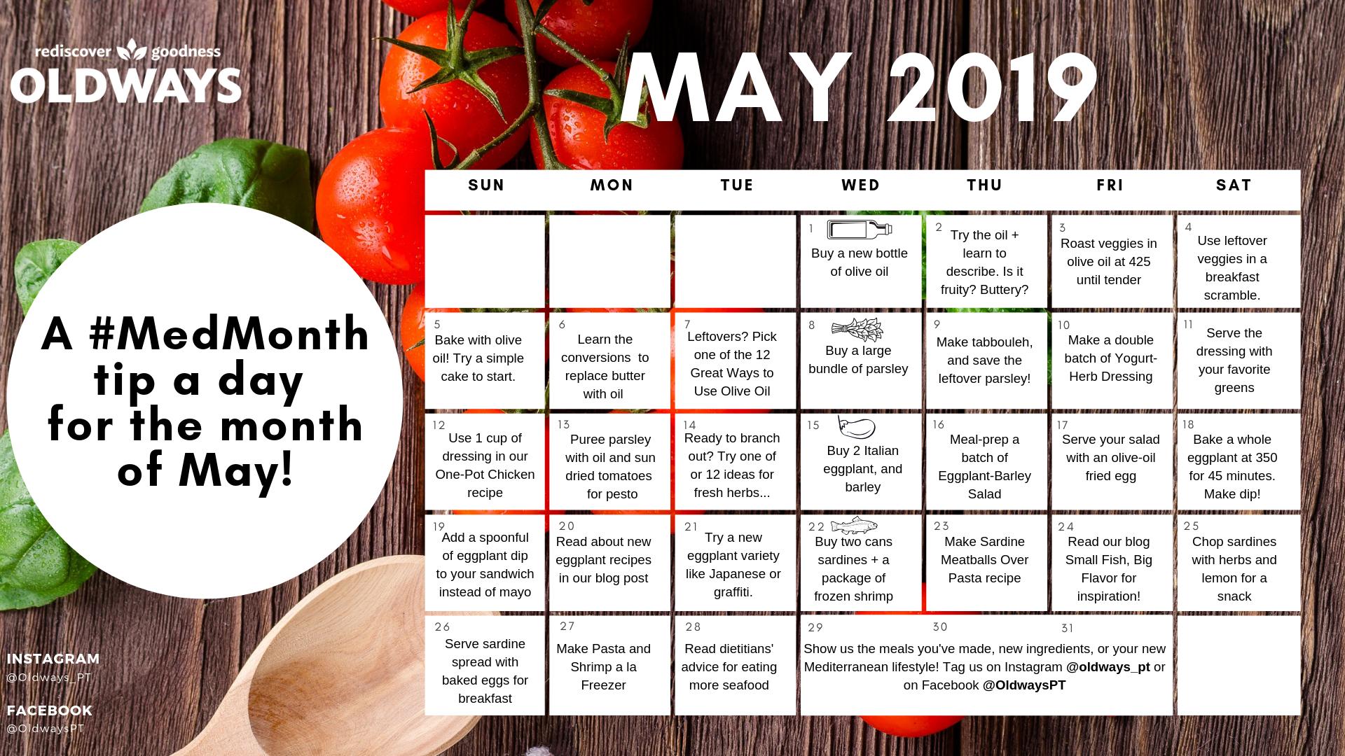 2019 Mediterranean Diet Challenge.png