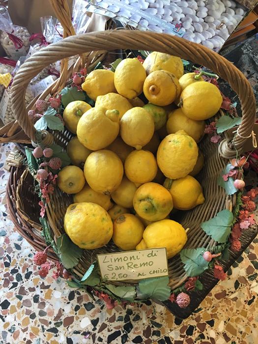 Liguria: San Remo lemons