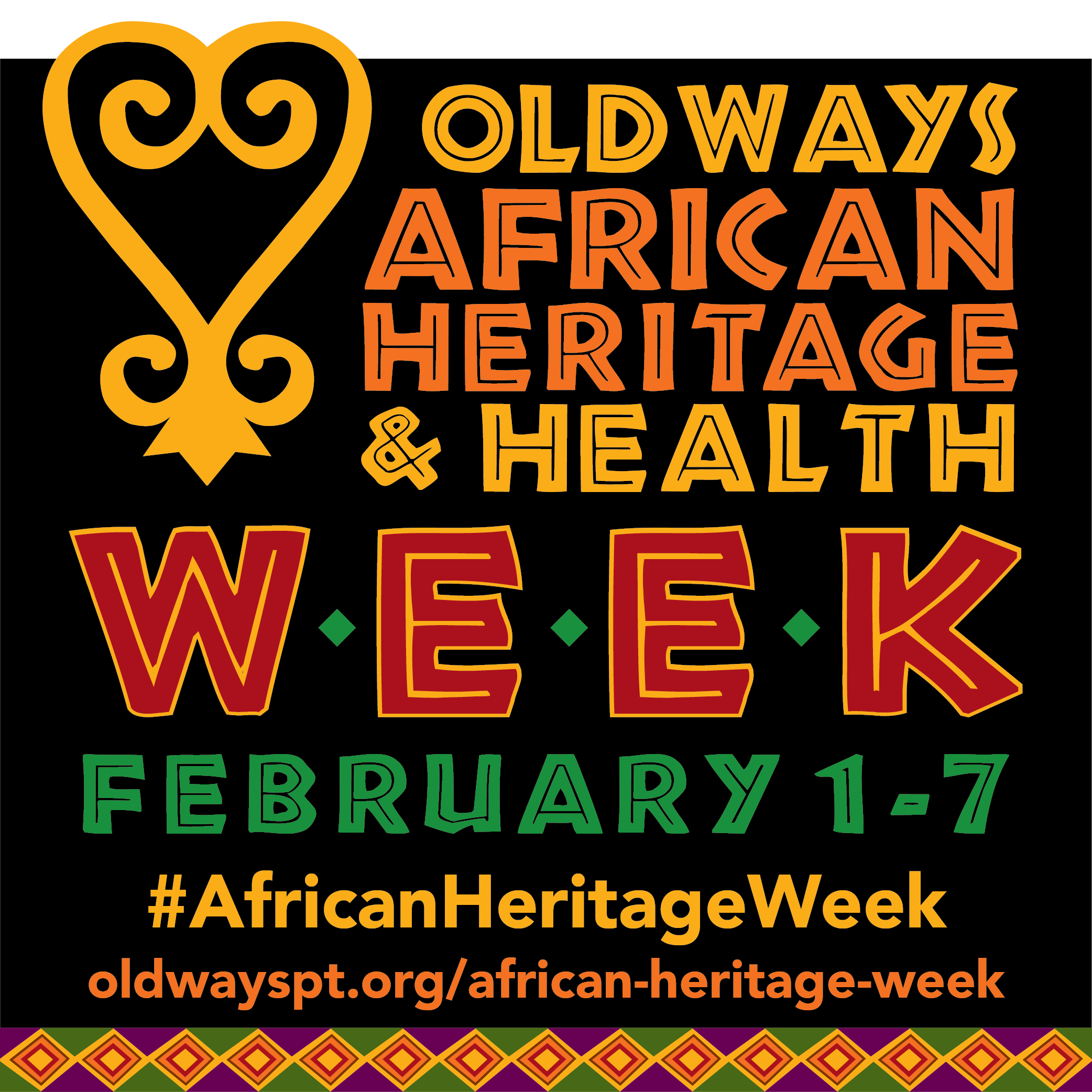 African heritage health week oldways for African heritage cuisine