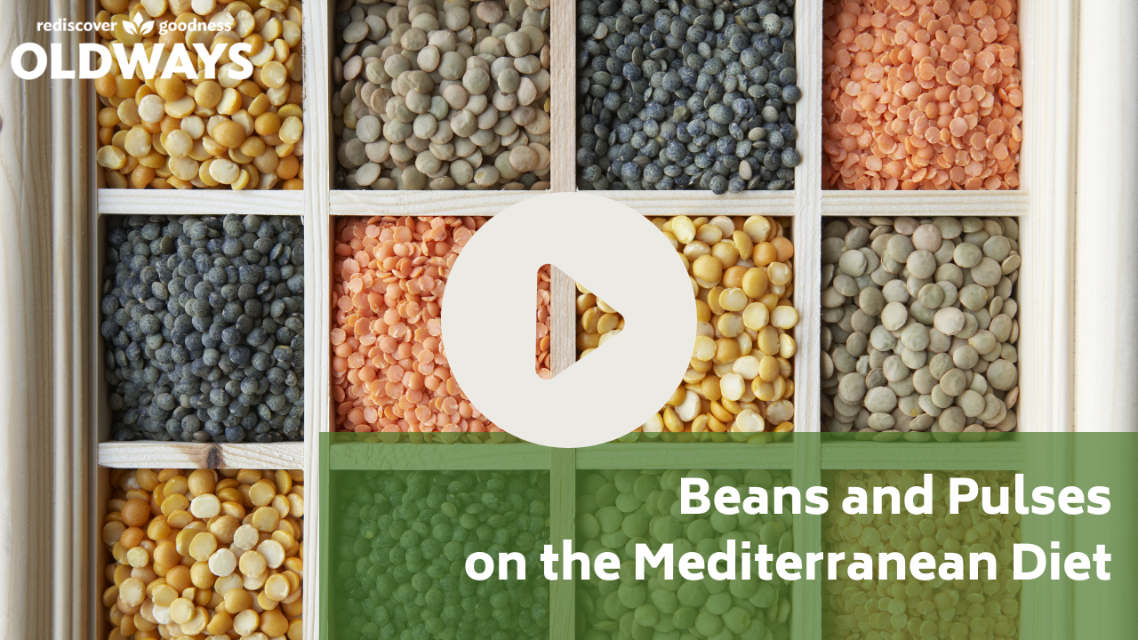 Beans and Pulses on the Mediterranean diet YouTube Thumbnail