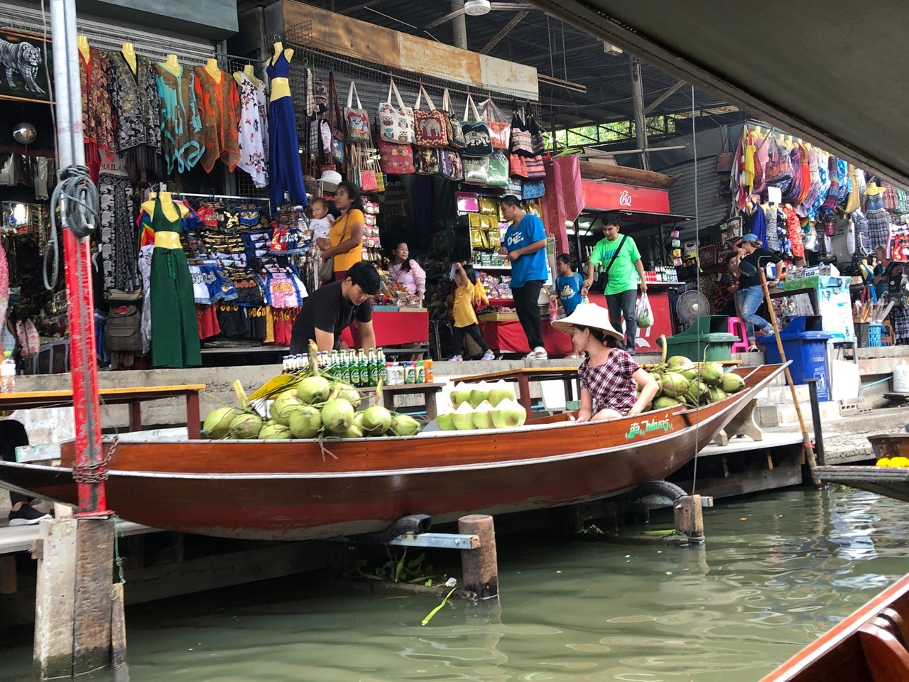 Boat marketplace Thailand