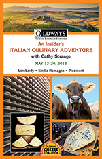 Oldways Cheese Italy Program 2018