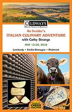 Oldways Cheese Italy Program 2018