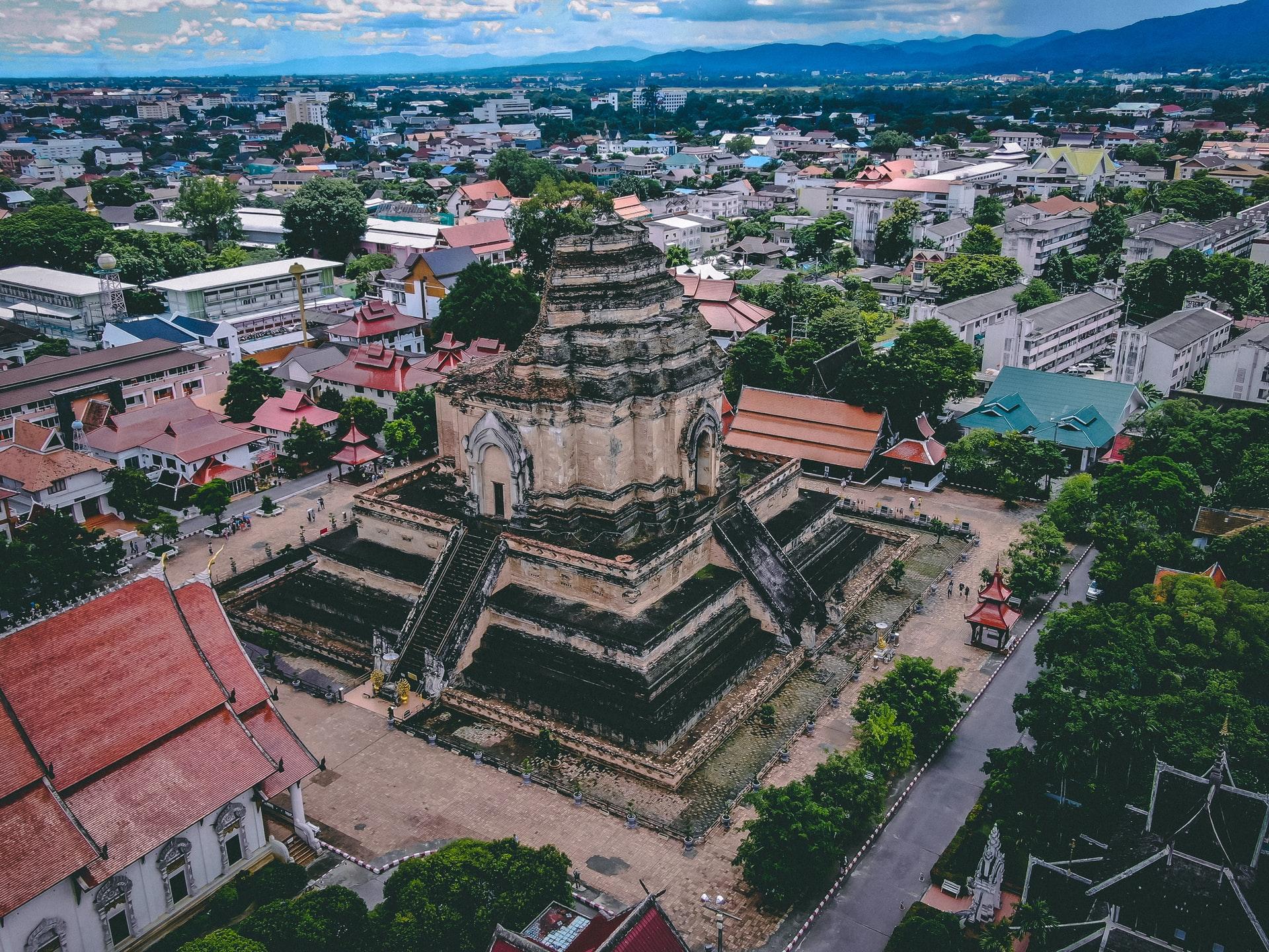 Chiang Mai Thailand skyline