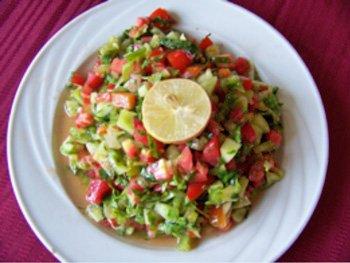 Mixed Country Salad (Salata Baladi) | Oldways