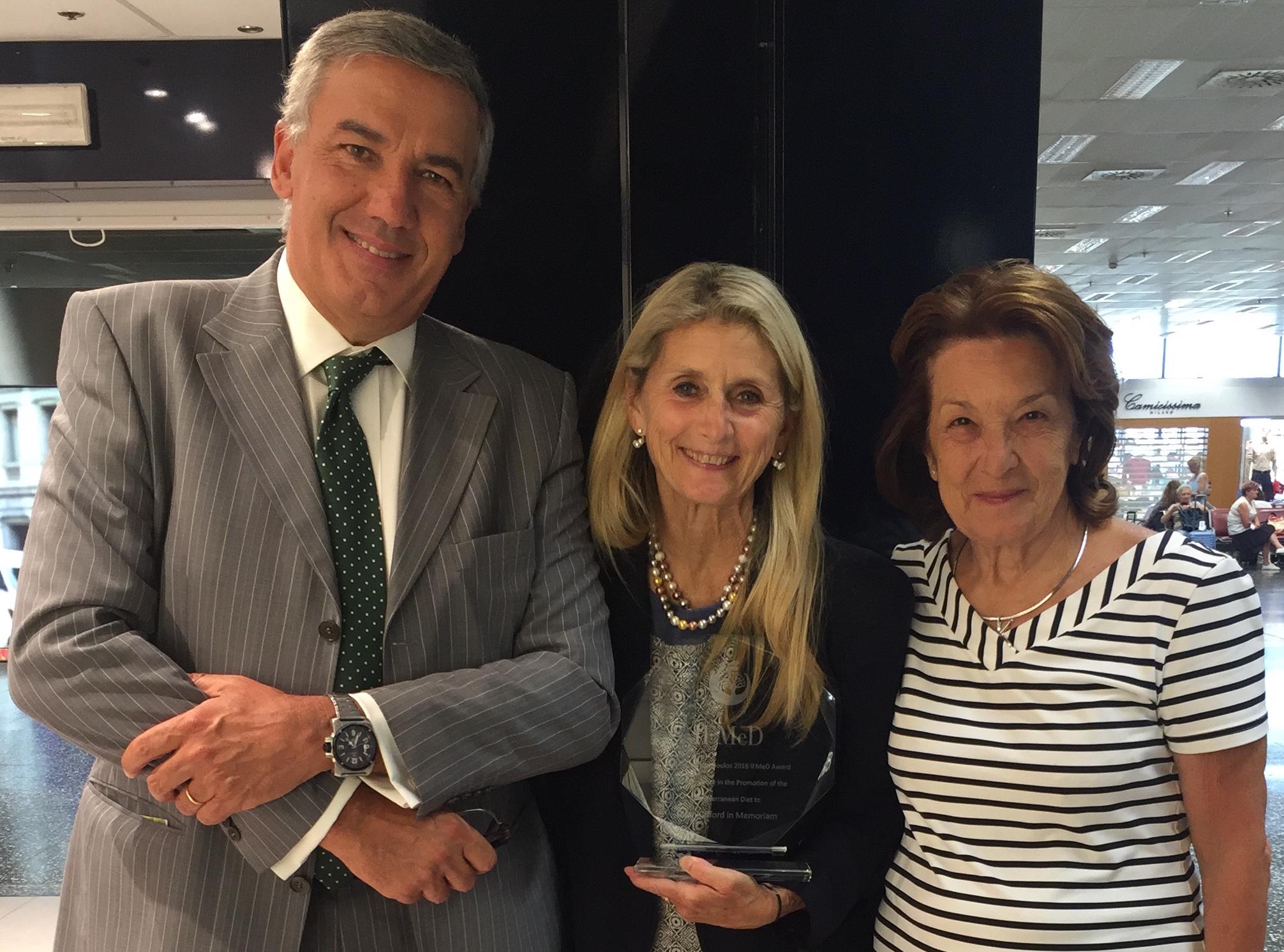 Dimitrios Trichopoulos Award.JPG