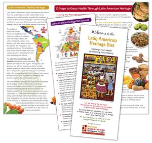 Latin American Heritage Trifold Brochure
