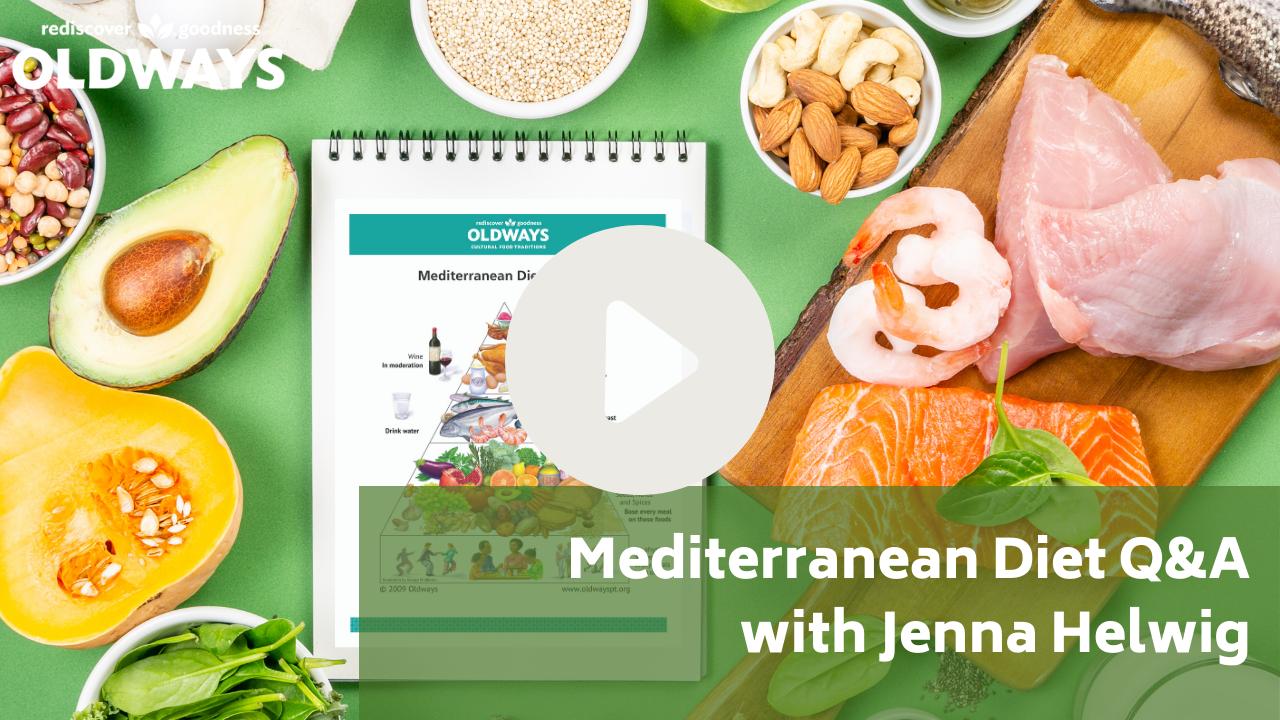 Mediterranean diet Q&A video thumbnail