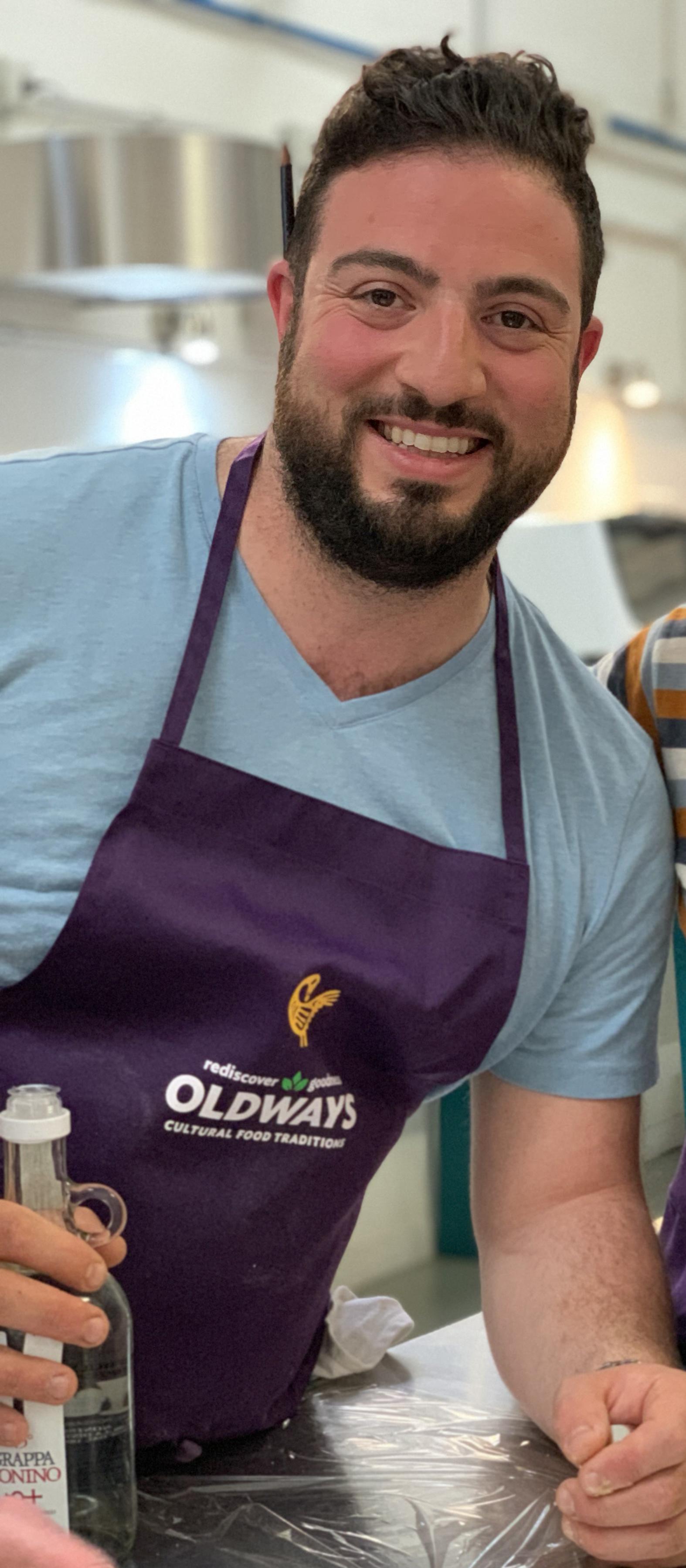 Chef Michael Lombardi in Italy