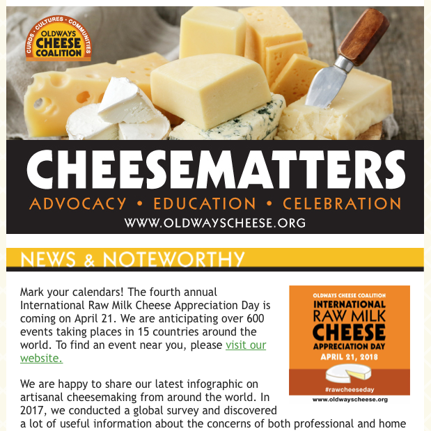 Newsletter Cheese
