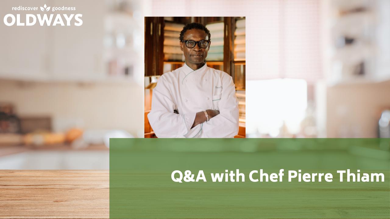 Q&A with Pierre Thiam