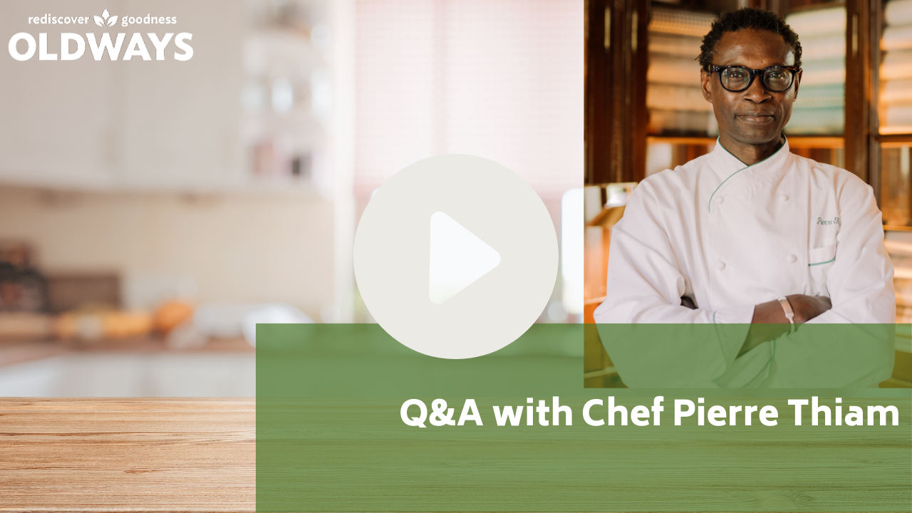 Play video Q&A with Chef Pierre Thiam