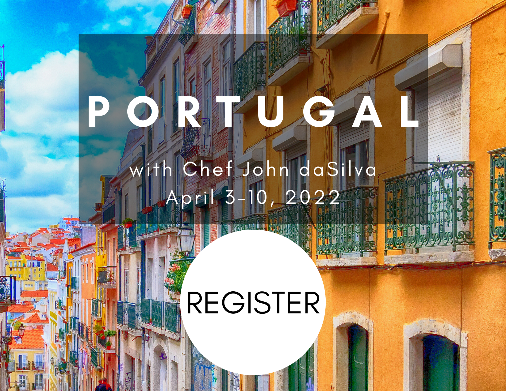 Portugal with register button
