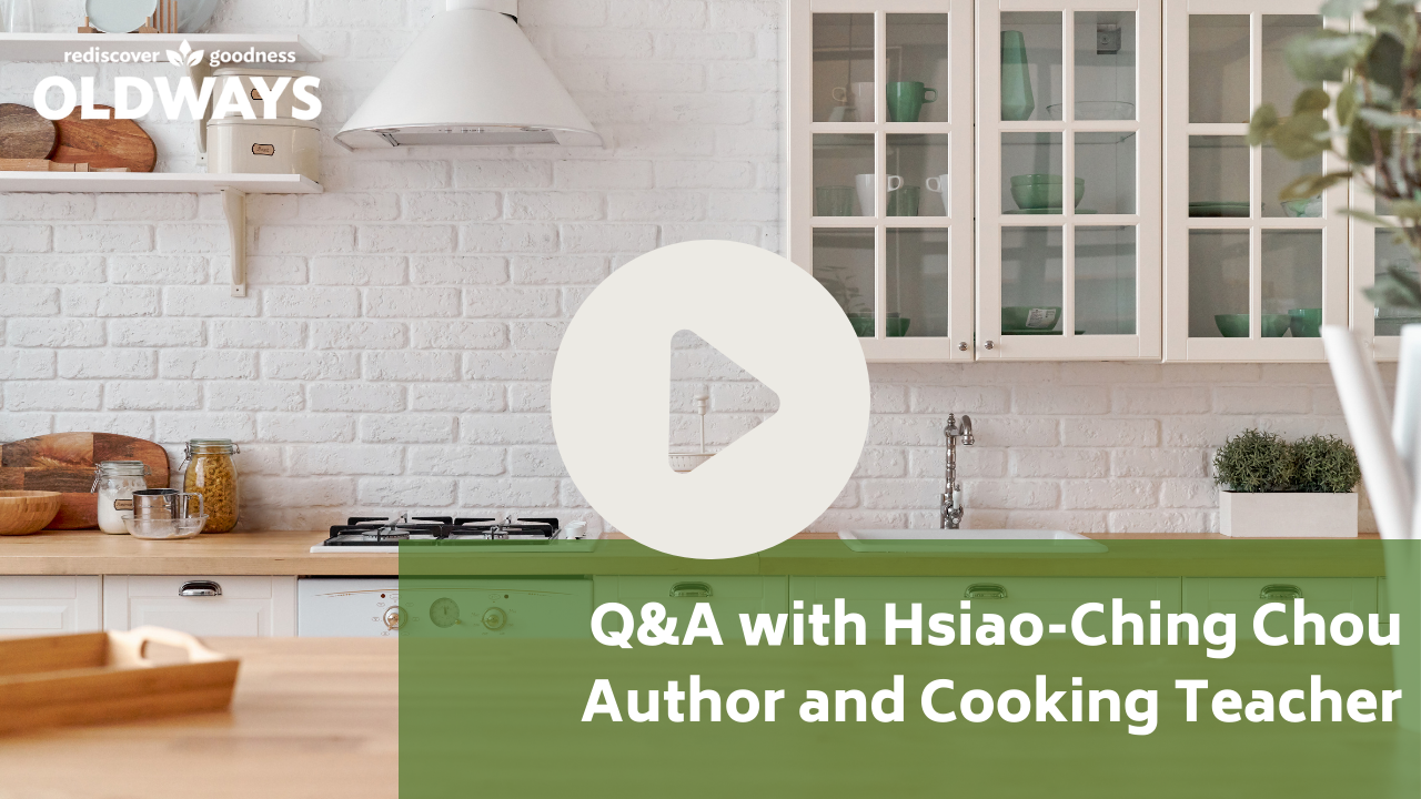 Q&A with Hsiao-Ching Chou video with play button