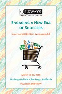 2018 Supermarket Dietitian Symposium program cover