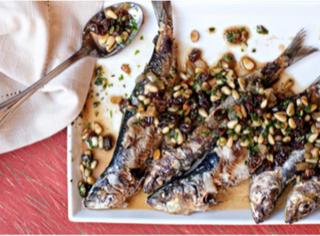 Sardines with Salsa