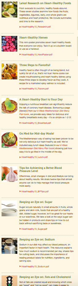 Nine ways to love your heart during heart health month oldways screen20shot202016 01 2120at201 45 44 forumfinder Image collections