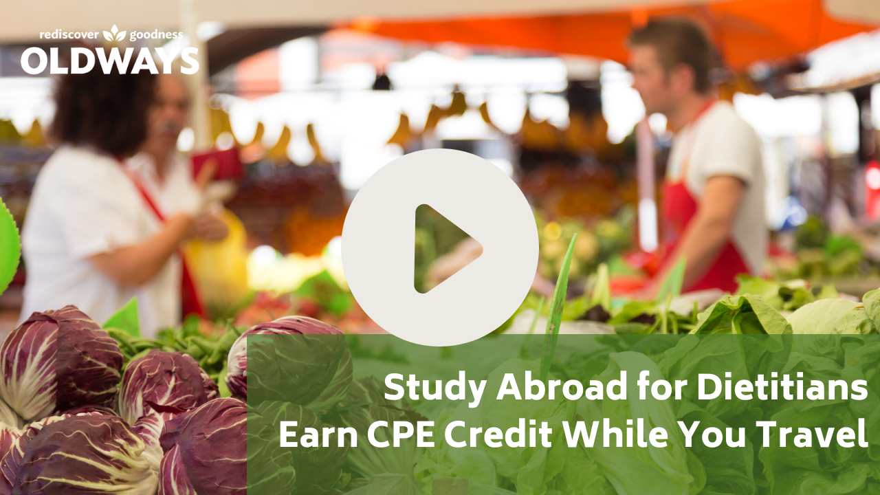 Study abroad for dietitians video thumbnail