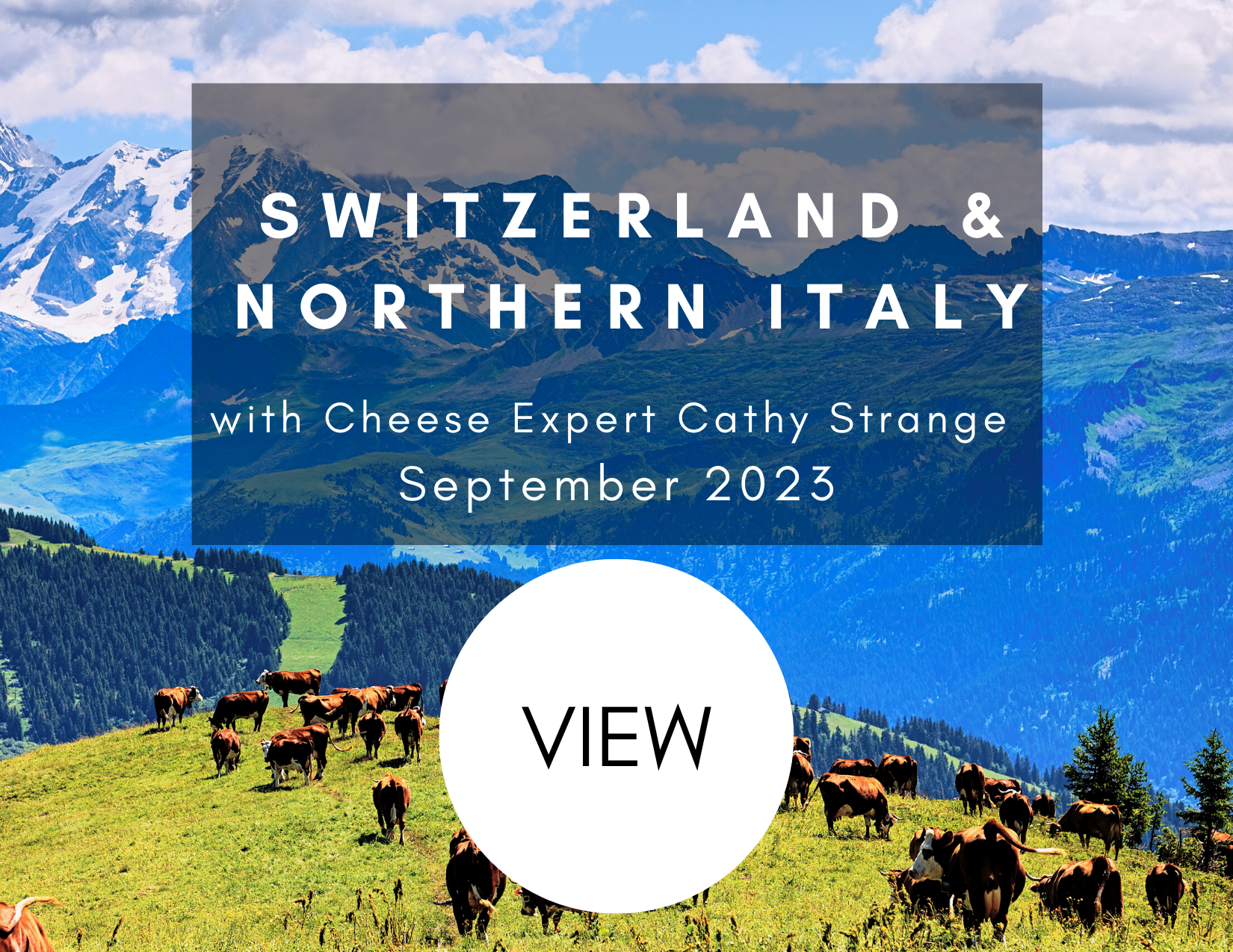 Switzerland and Northern Italy September 2023