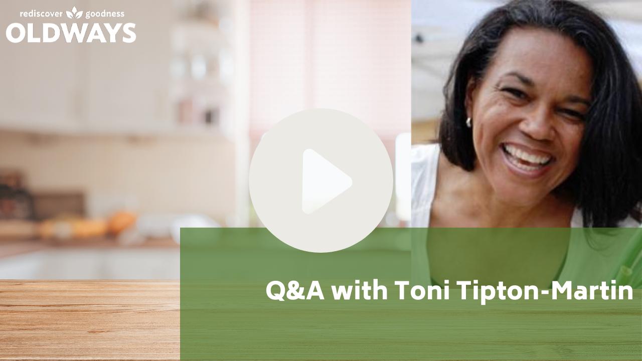 Play video Q&A with Toni Tipton-Martin