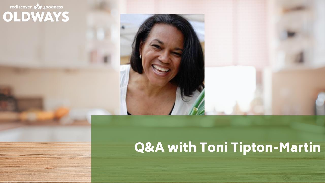 Q&a with Toni Tipton Martin