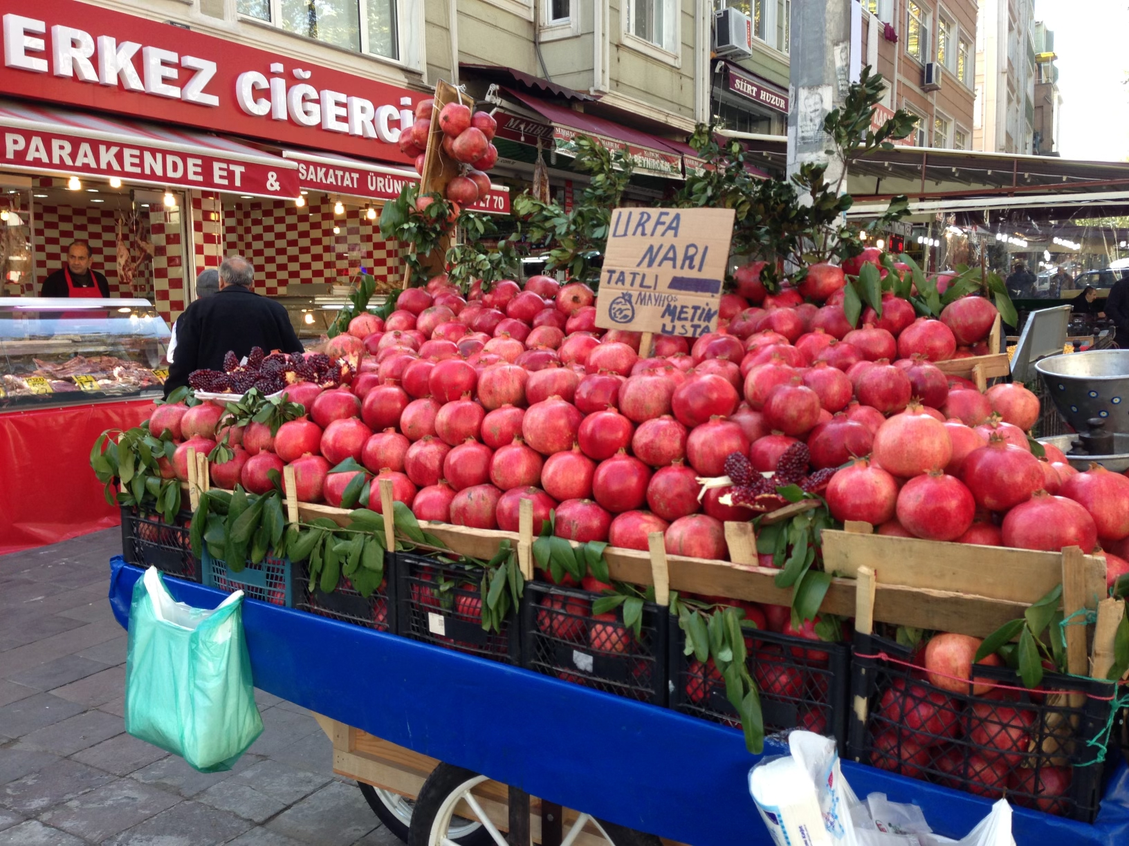 Pomegranates in Turkey