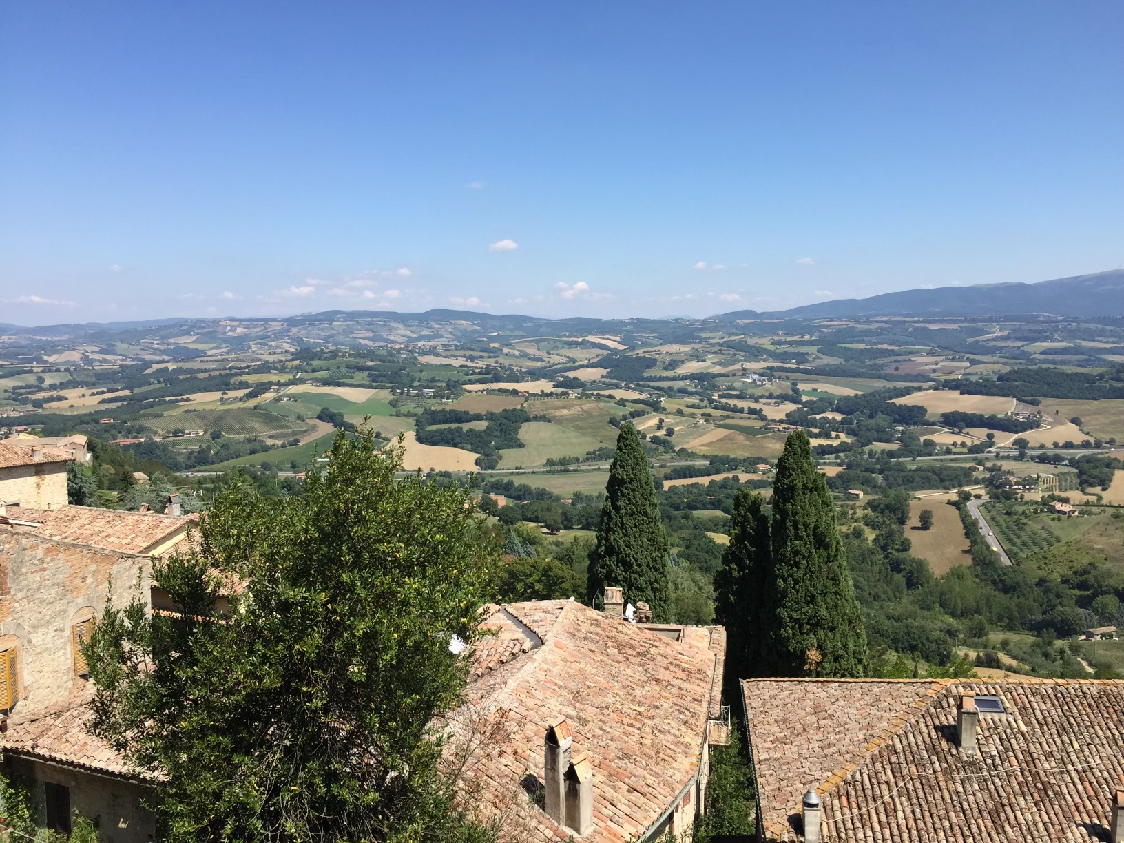 Village view in Umbria, Italy