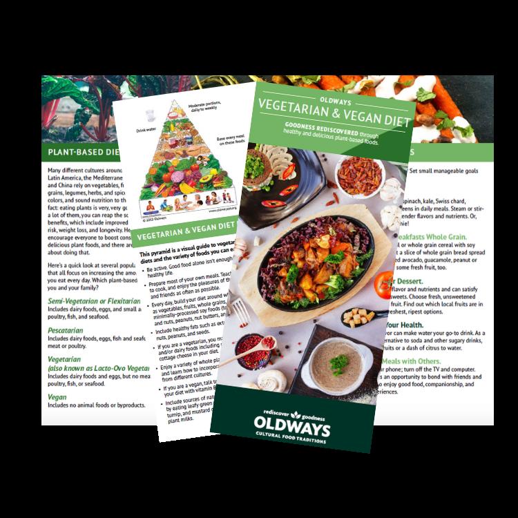Vegetarian Diet 101 Brochure