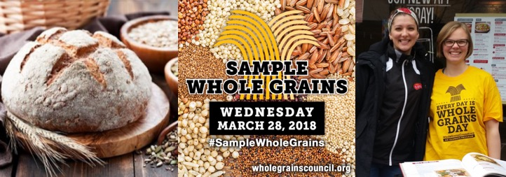 Collage from Whole Grain Sampling Day