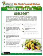 What can you do with avocados