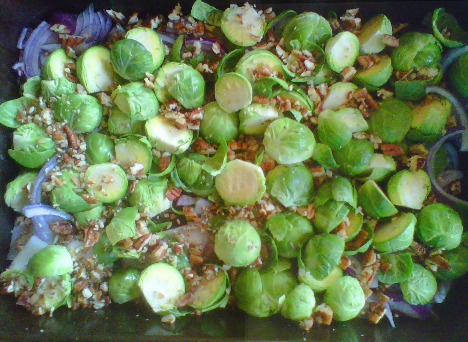 Oldways Zesty Brussels Sprouts & Collard Greens Sauté ...