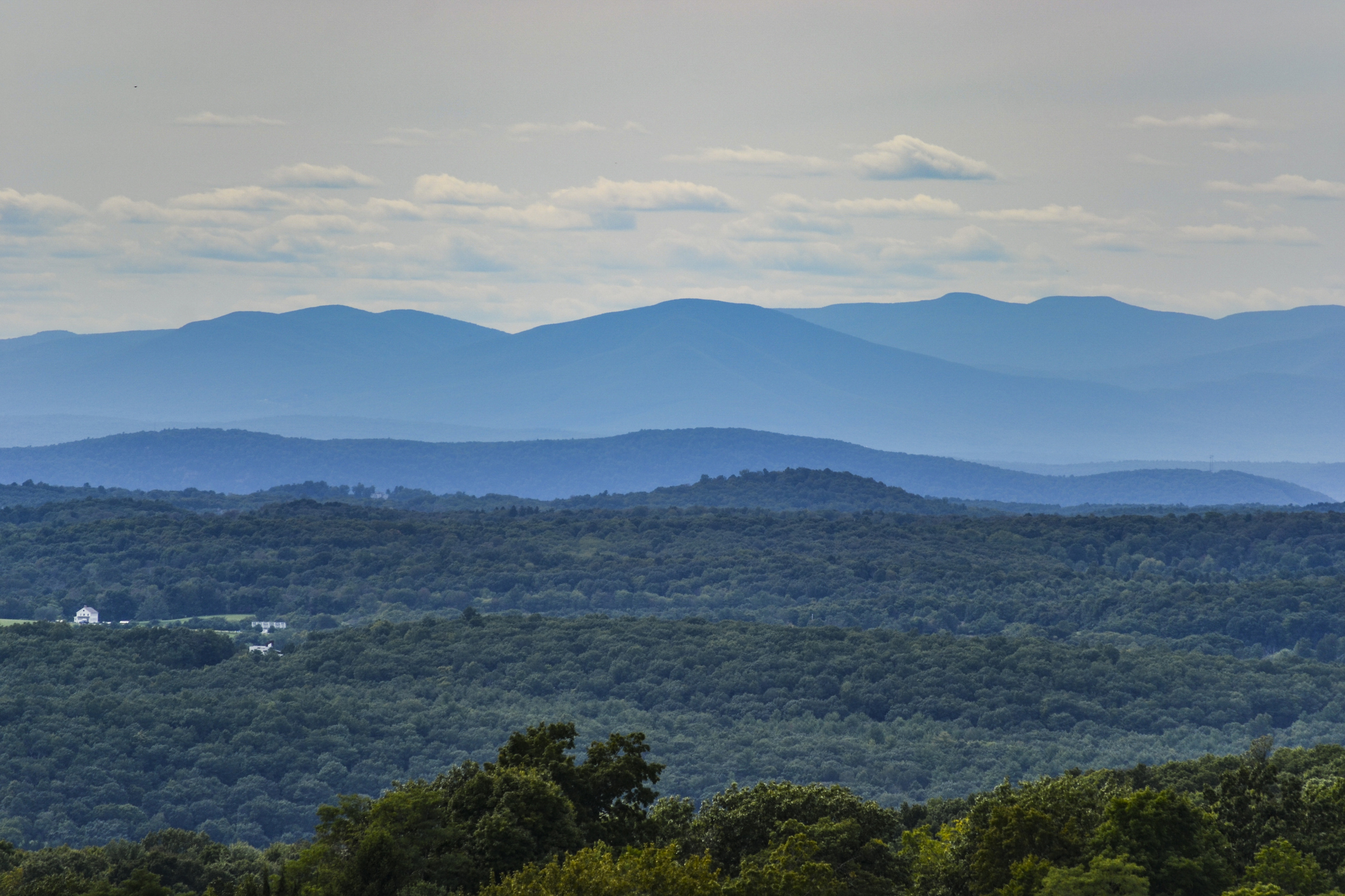 mountains of Hudson valley