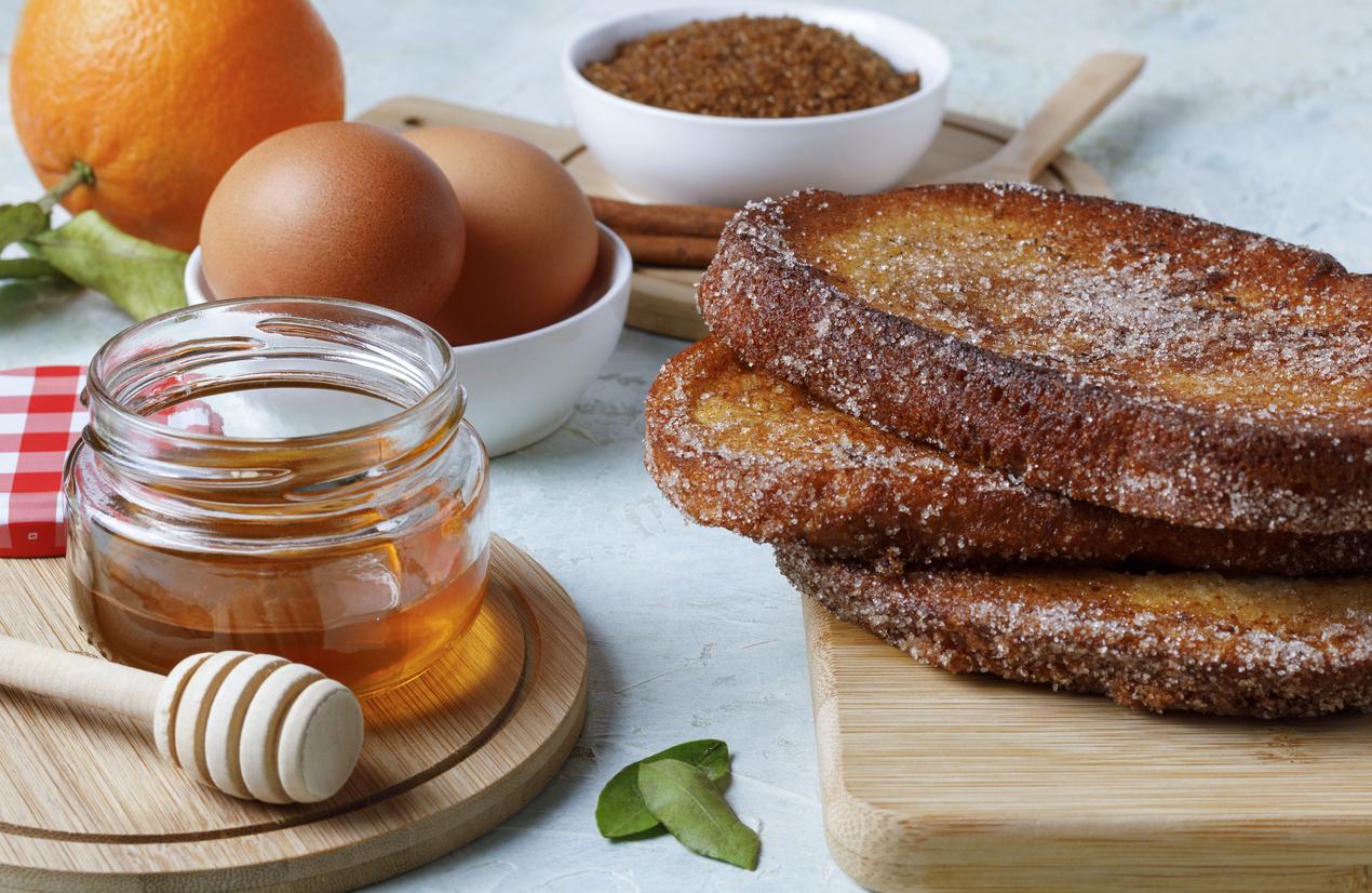 spanish torrjias easter bread