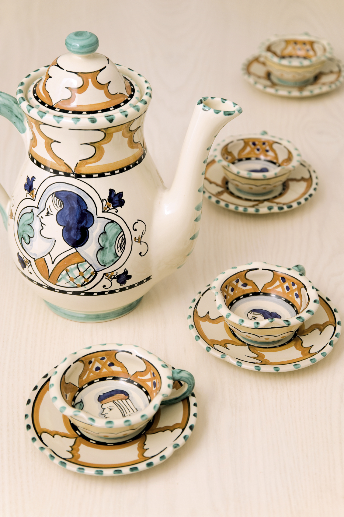 ceramics from Umbria, Italy