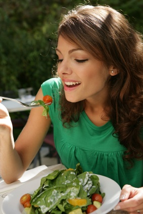 Latina Eating Salad.jpg